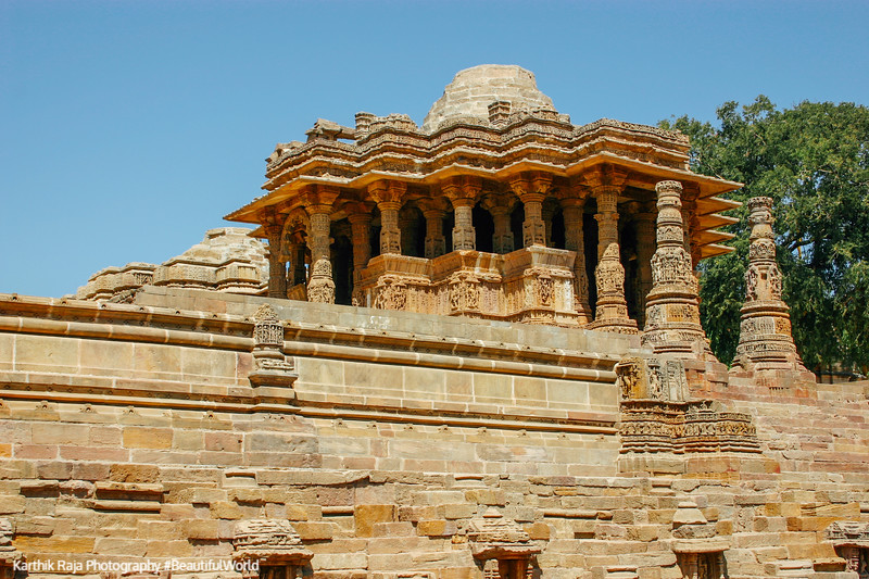 The Guda Mandap, Modhera, Sun temple, Gujarat, India