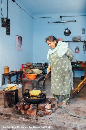Restaurant, Pragpur Heritage Village, Kangra Valley, Himachal Pradesh
