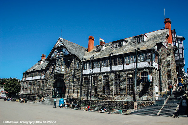 The Military HQ, Shimla, Himachal Pradesh, India