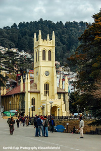St. Michael's Cathedral, Shimla, Himachal Pradesh, India