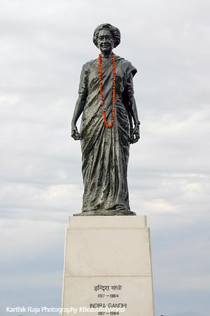 Indira Gandhi statue, Shimla, Himachal Pradesh, India