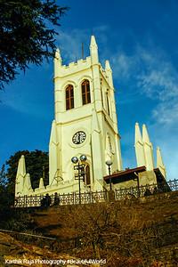 St. Michael's Cathedral, Shimla, Himachal Pradesh, India