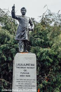 Lala Lajpat Rai statue, Shimla, Himachal Pradesh, India