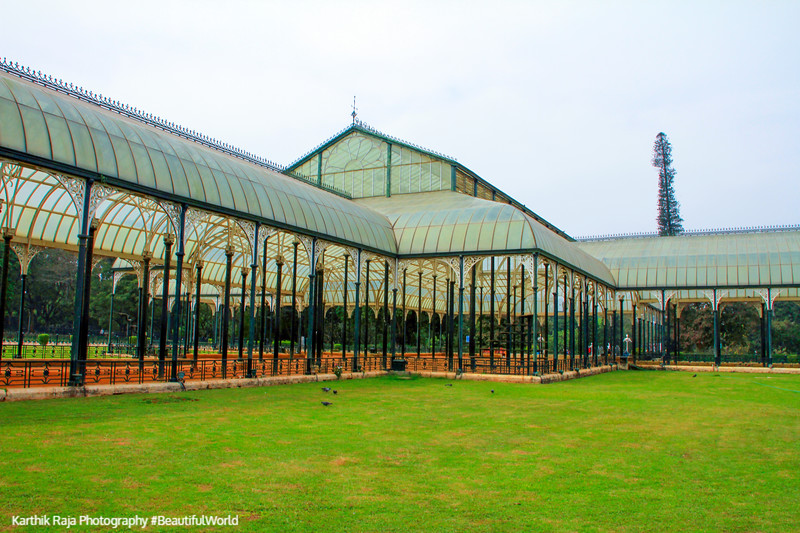 Glass House, Lalbagh Botanical Gardens, Bangalore, Karnataka