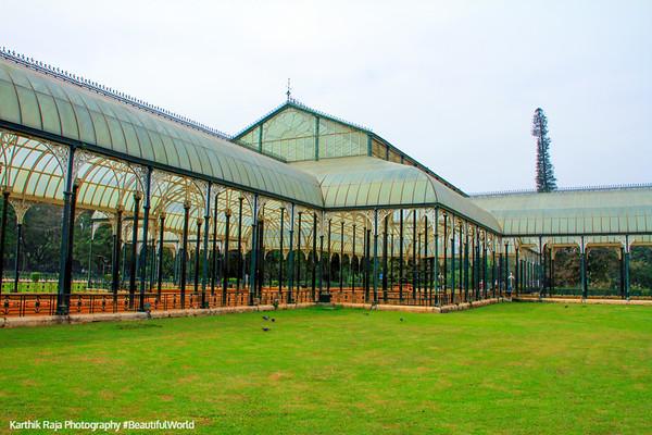 Glass House, Lalbagh Botanical Gardens, Bangalore, Karnataka
