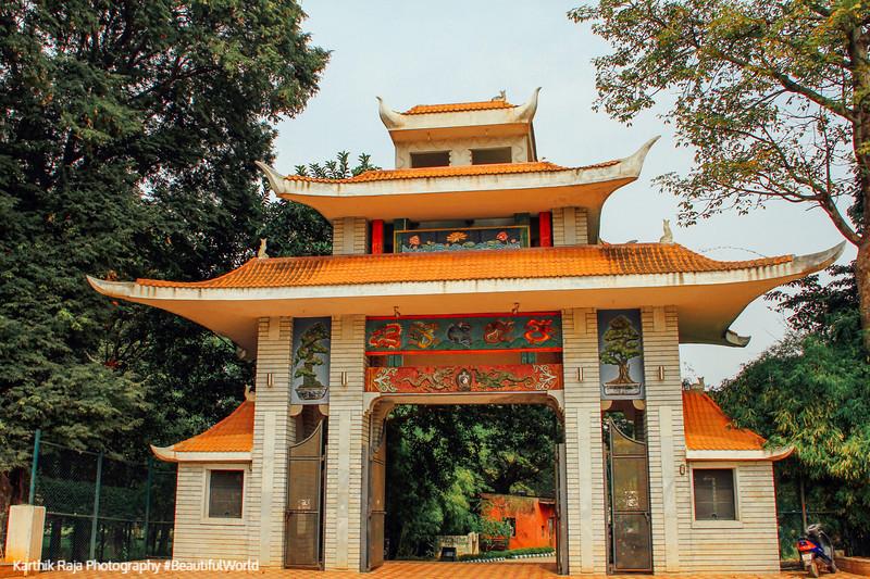 Chinese Tower, Lalbagh Botanical Gardens, Bangalore, Karnataka