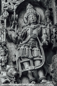Shiva, Hoysaleswara temple, Halebidu