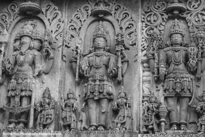 Brahma, SHiva, Vishnu, Holy Trinity, Hoysaleswara temple, Halebidu