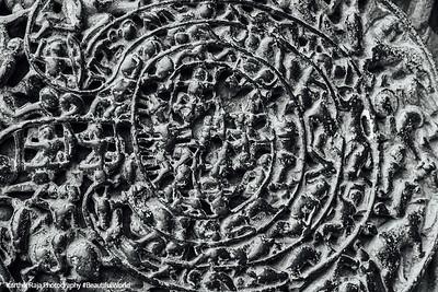 Chakravyuha, Abhimanyu's trap, Hoysaleswara temple, Halebidu