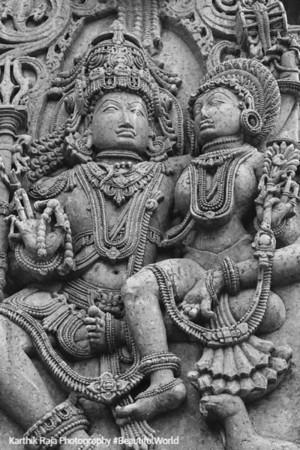 Lakshminarayana, Hoysaleswara temple, Halebidu