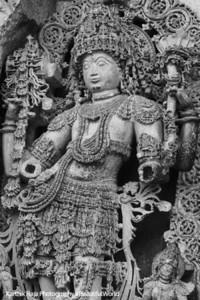 Shiva, Relief Sculpture, Hoysaleswara temple, Halebidu