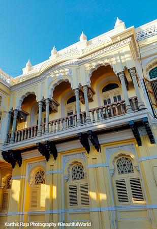 Balcony, Mysore Palace, Karnataka, India