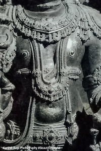 Cow on the chest of Venugopala, Chennakesava Temple, Somanathapura, Karnataka, India