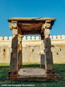 Mandap, Sri Ranganathaswamy Temple, Srirangapatna, Karnataka