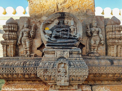 Vishnu is sleeping form, Sri Ranganathaswamy Temple, Srirangapatna, Karnataka