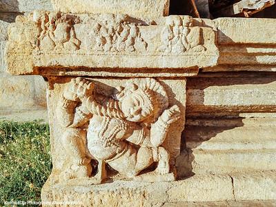 Column base, Sri Ranganathaswamy Temple, Srirangapatna, Karnataka