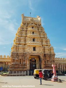 Gopuram, Sri Ranganathaswamy Temple, Srirangapatna, Karnataka