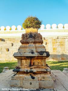 Tulsi mandap, Sri Ranganathaswamy Temple, Srirangapatna, Karnataka
