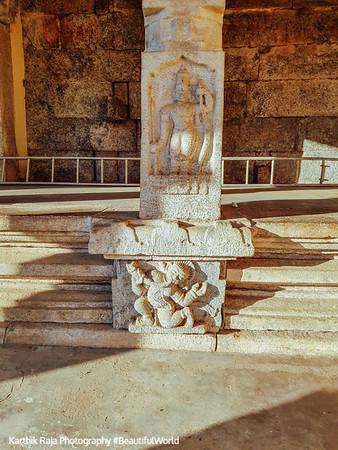 Column, Sri Ranganathaswamy Temple, Srirangapatna, Karnataka