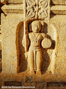 Carving, Sri Ranganathaswamy Temple, Srirangapatna, Karnataka