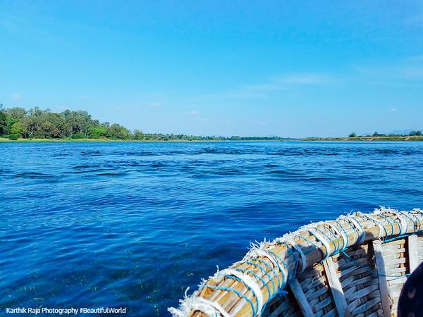 Kaveri River, Talakad, Karnataka, India