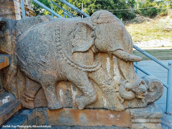 Vaidyeshvara temple, Talakad, Karnataka, India