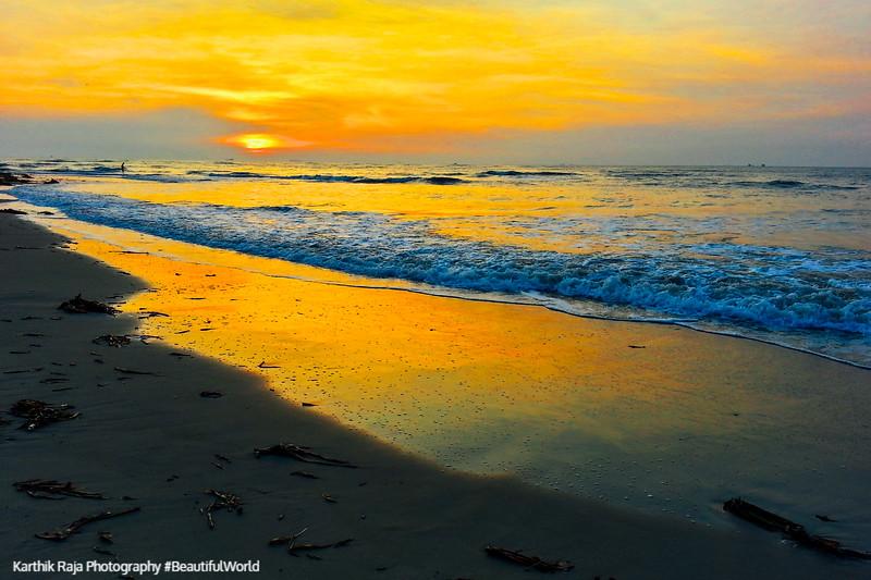 Fort Kochi Beach, Sunset, Fort Kochi, Kerala