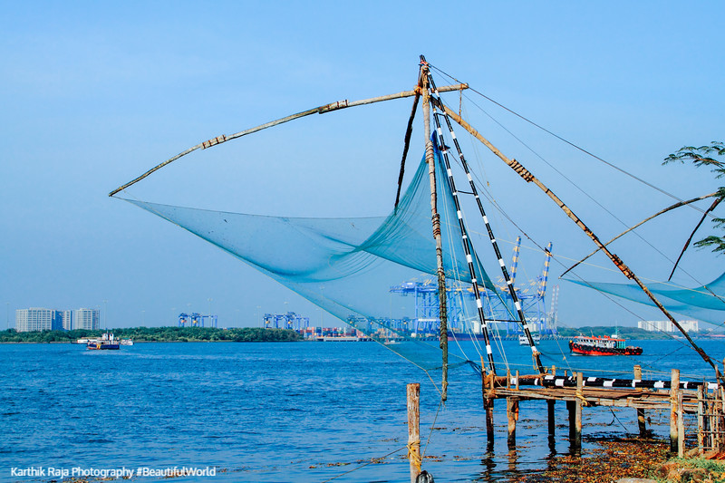 Chinese Fishing Nets, Fort Kochi, Kerala