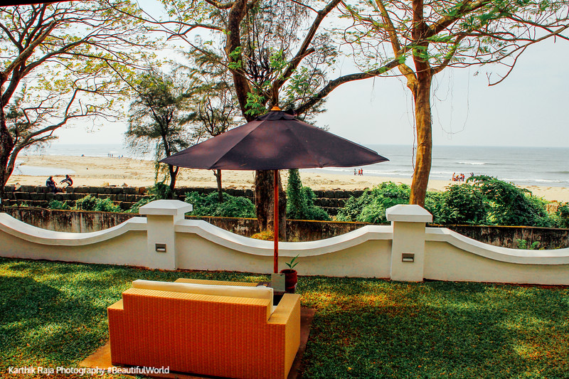 View from the Ghorpade Suite, Old Lighthouse Bristow Hotel, Fort Kochi, Kerala
