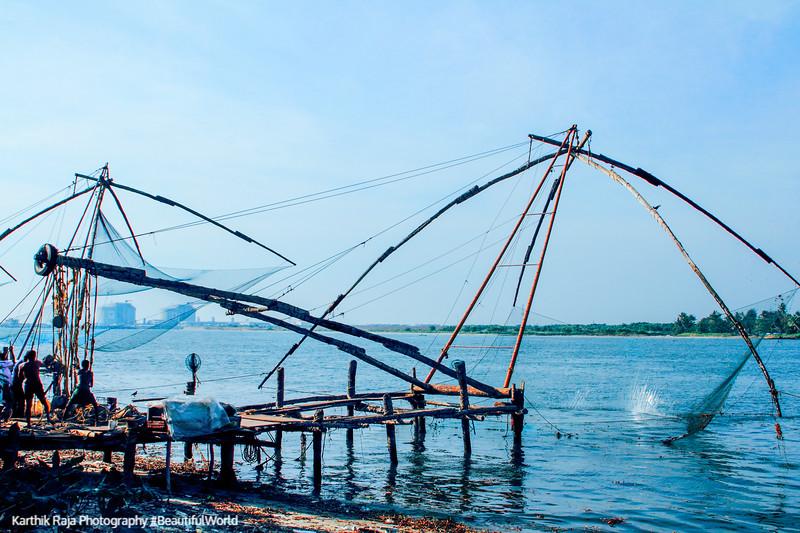 Chinese Fishing Nets, Fort Kochi, Kerala