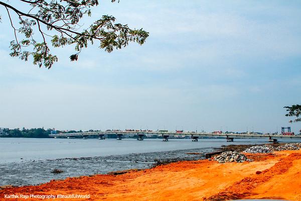Thoppumpady Bridge, Fort Kochi, Kerala