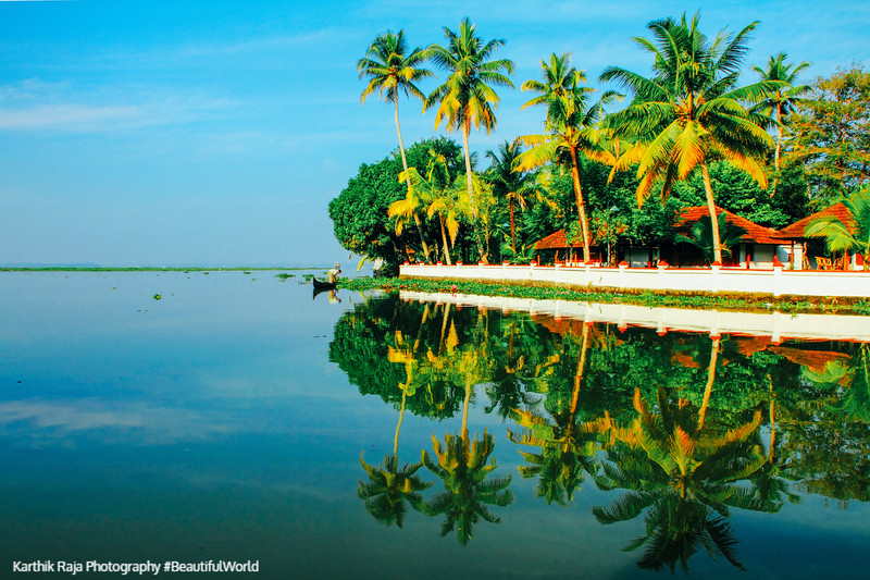 Coconut Lagoon, Backwaters, Kumarakom, Kerala