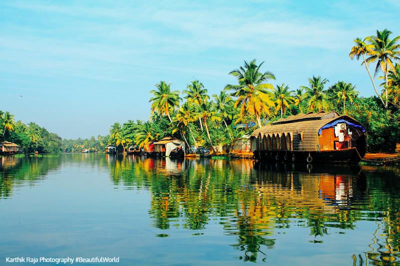 Houseboat, Backwaters, Kumarakom, Kerala