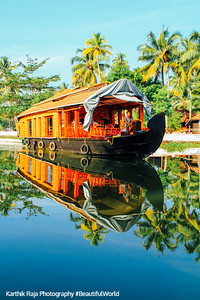 Houseboat, Backwaters, Kumarakom, Kerala