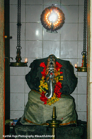 Ganesha, Melarcode temple, Kerala