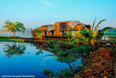 Houseboat, Lake Vembanad, Vasundhara Sarovar Premiere, Vayalar, Kerala