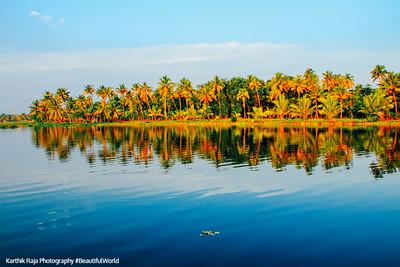 Vayalar Kayal, Backwaters, Lake Vembanad, Vayalar, Kerala
