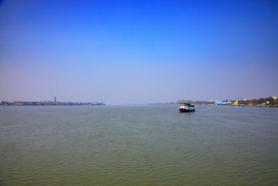 Hooghly RIver, Bhāgirathi-Hooghly, Kolkata