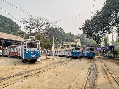 Trams, Kolkata, India