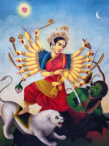 Kali, Durga, Victoria Memorial, Kolkata, India