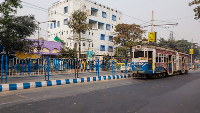 Trams, Kolkata, India