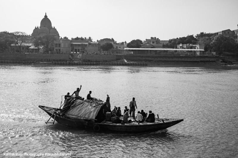 Boat, Hooghly River, Kolkata, India