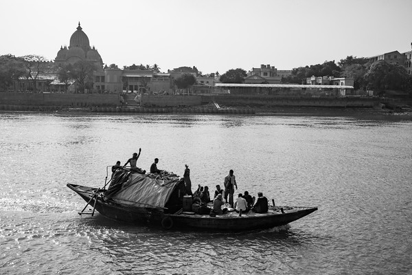 Boat, Hooghly River, Kolkata, India