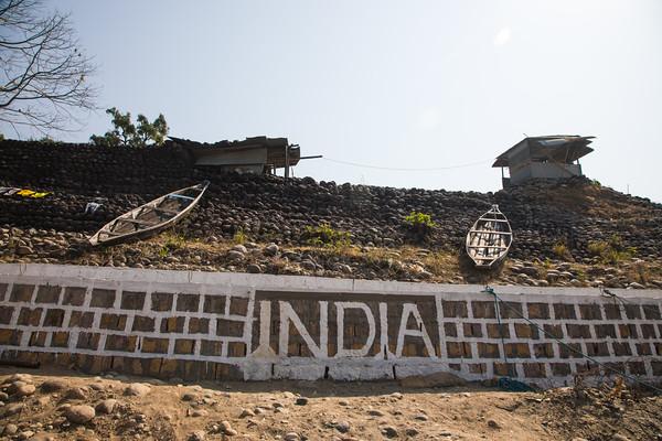 Dawki, Meghalaya - India - Bangaladesh Border