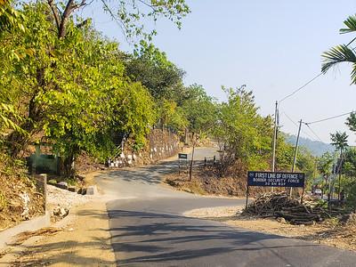 Border Force, India Bangaldesh, Dawki, Meghalaya - India - Bangaladesh Border