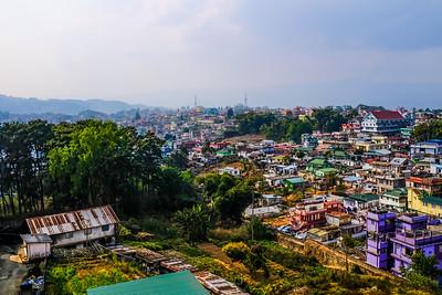 Aerial View of Shillong, Meghalaya