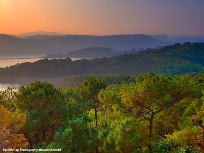 Sunrise, Umiam Lake, Shillong, Meghalaya