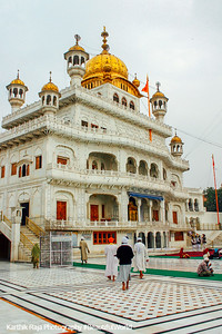 Akal Takht - seat of the governing body of the Sikhs, Golden temple, Amritsar, Punjab