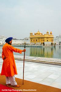 Security, Golden Temple, Anritsar, Punjab, India