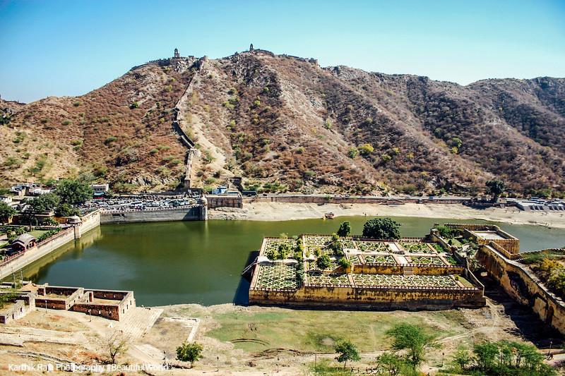 Kesar Kyari Garden, Amer Fort, Amber Palace, Jaipur, Rajasthan, Incredible India